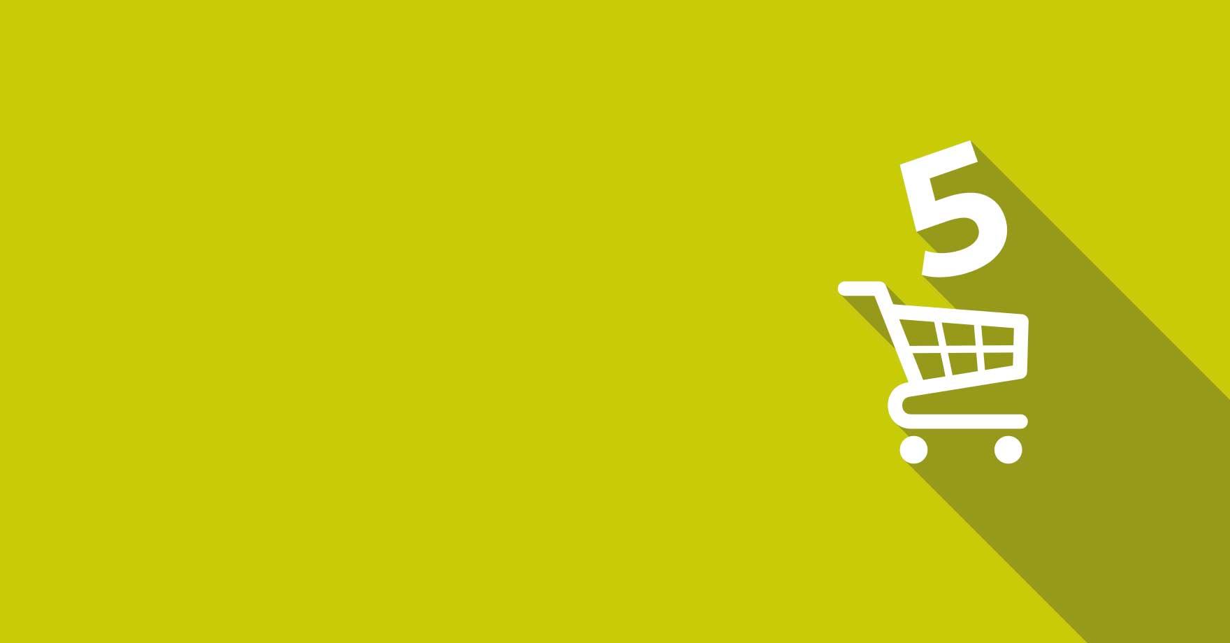 5 idee per migliorare la tua strategia di e-commerce